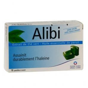 Alibi 18 pastilles à sucer halitose