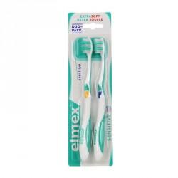 Elmex brosse à dents sensitive pack duo