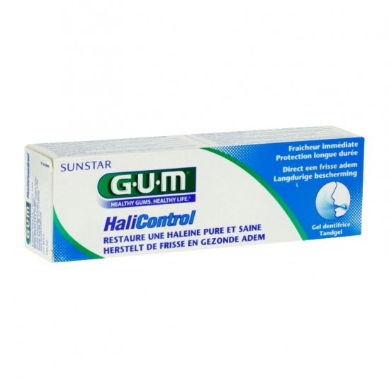 Gum halicontrol gel dentifrice 75ml