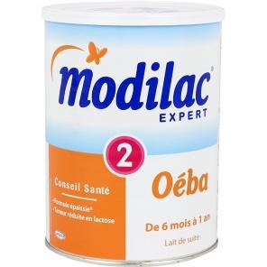 Modilac Expert Lait Oéba 2ème Age 800g