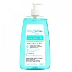 Neutraderm gel douche micellaire dermo-protecteur 1L