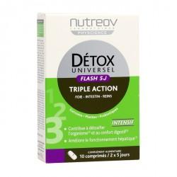 Nutréov détox universel 5 jours triple action 10 comprimés