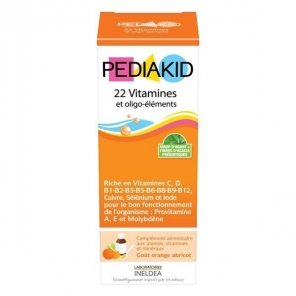 Pediakid 22 vitamines & oligo-éléments 250 ml