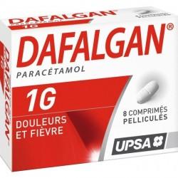 Dafalgan 1g 8 Comprimés