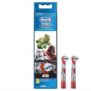 Oral B Brossettes Kids Star Wars x2