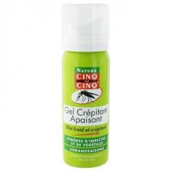 Cinq sur Cinq Gel Crepitant Apaisant Piqures Insectes et Végétaux 50 ml