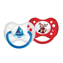 Dodie Sucette Anatomique Silicone +6 Mois Duo A14