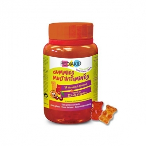 PEDIAKID GUMMIES MULTIVITAMINES 60GOM