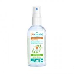 Puressentiel assainissant spray lotion hydroalcoolique 25ml