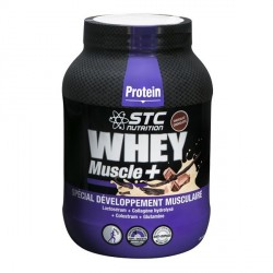 STCwhey muscle+ protein chocolat 750g