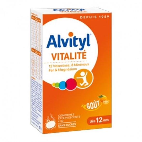 Urgo alvityl effervescents forme équilibre vitalité 30 comprimés