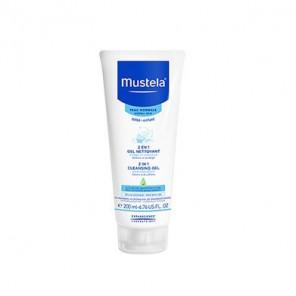 Mustela 2 en 1 gel nettoyant tube capsule service 200ml