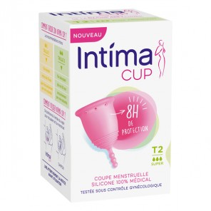 Intima cup flux abondant taille 2