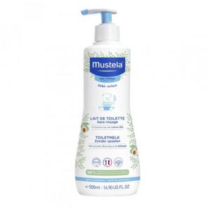 Mustela lait de toilette sans rinçage à l'avocat bio 500ml